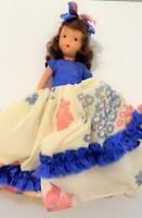 NASB Nancy Ann Storybook Bisque Doll 197 November Lass Socket Head FR Orig Box