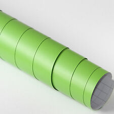 5x DIN A4 Wrapping Folie Matt Grün 21cm x 29,7cm Autofolie mit Luftkanälen