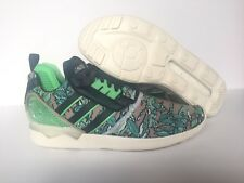 purchase cheap 266e0 29620 Mens Adidas ZX 8000 Boost Kanye Yeezy Sneakers Sz 9.5 Petrol Ink Green  B26364