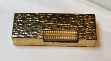 Dunhill gold  lighter.