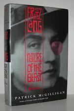 FRITZ LANG Nature of Beast - McGilligan, Patrick - First Edition 1st Printing