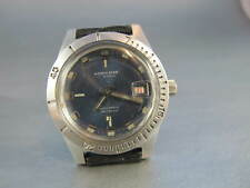 NORTH STAR MENS VINTAGE STEEL WATERPROOF AUTOMATIC  DIVERS WATCH no reserve