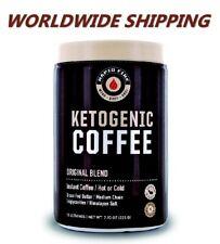 Rapid Fire Ketogenic Instant Coffee Mix Keto Diet 7.93 Oz WORLDWIDE SHIPPING