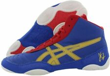 Asics Men's Jb Elite V2.0 Wrestling Shoe 10, Jet Blue/Olympic Gold/Red