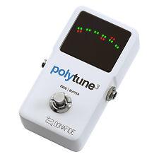 TC Electronic Polytune 3 Polyphonic Guitar Tuner Pedal built in Bonafide Buffer