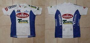 Carrera Blue Jeans Cycling Shirt 2XL Jersey Cycle Italy Nalini Vintage