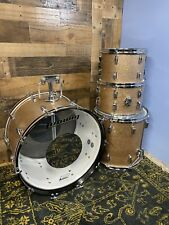 1960's Ludwig Hollywood Drum Set in Champagne Sparkle