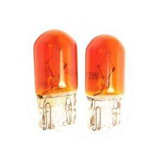 Ampoules WY5W T10 Orange clignotants et Repetiteurs W5W Voitures motos 2pcs