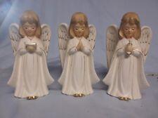 Set Of 3 Ucagco Ceramic Choir Angels Japan