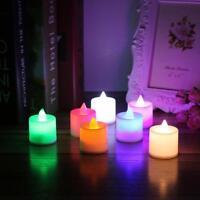 LED flammenlose Kerzen Batterie Dekorative Hochzeit Kerzenlicht Candle Light