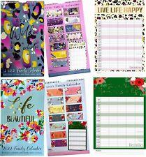 More details for 2022 family organiser 5columns calendar planner month to view long wall calendar