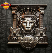 Hard Rock Cafe Florence 3D Lion with guitars Pin 2017