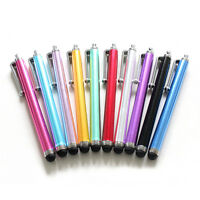 10X Universal Metal Touch Screen Pen Stylus For Iphone Ipad Tablet Phone EF
