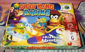 Diddy Kong Racing on N64 [Boxed]