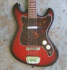 1960s Kingston Kawai Electric Guitar. One Pickup. Funky Japanese.