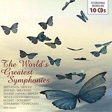 Various - The World's Greatest Symphonies (2016) 10CD Box Set  NEW  SPEEDYPOST