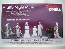 A LITTLE NIGHT MUSIC Herald CLAIRE BLOOM / KATE BURTON / JEREMY IRONS NYC 2003