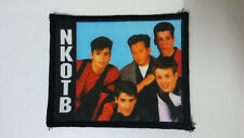 New Kids on The Block NKOTB Vintage patch logo music boy band group pop 3