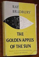 The Golden Apples of the Sun - Ray Bradbury SIGNED 1st/1st HC/DJ VG+ RARE!