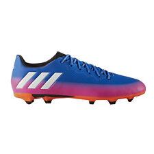 Adidas Messi 16.3 Firm Ground Scarpe da Calcio Uomo Blu (blue/ftwr White/solar