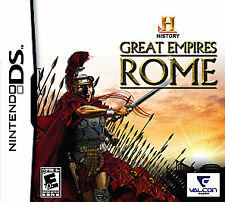 BRAND NEW Nintendo DS Game ~ HISTORY GREAT EMPIRES: ROME ~ 20 civilizations