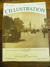 L'illustration n° 4872 / 18 juillet 1936 LE 14 JUILLET A PARIS LA REVUE DE LA NO