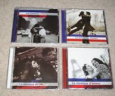 Variety Francaises [Box Set] - 4 CDs French Chanson (Piaf, Gabin, Chevalier...)