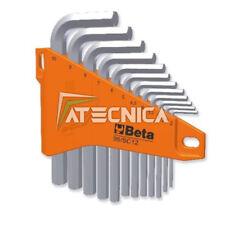 Serie 12 chiavi esagonali standard maschio Beta 96/SC12 chiavi a brugola zincate
