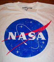 VINTAGE STYLE NASA Astronaut T-Shirt MEDIUM NEW