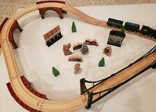Imaginarium Lionel wooden Polar Express set w custom pieces please read
