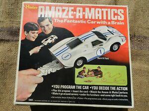 Amaze-a-matics (Hasbro) White Mark IV Ford Vintage 1970