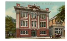 TX - SAN ANTONIO TEXAS Postcard ST MARY'S SCHOOL WOODWARD CARRIAGE REALTY CO