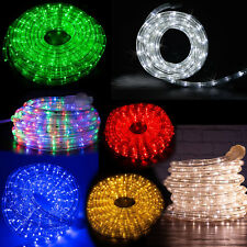 """West Ivory 10',20',25',50',150'ft Extendable 3/8"""" LED Rope Light Decoration/Xmas"""