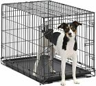 48 Extra Large Giant Breed Dog Crate Kennel W/Divider XL Pet Wire Cage Folding