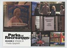 2013 Press Pass Parks and Recreation Seasons 1-4 #30 Freddy Spaghetti Card 2a1