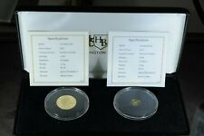 More details for 2021 queen elizabeth ii platinum jubilee 22ct and 24ct gold proof coins