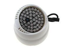 48*LED 850nm IR Infrared LED Light For night verison camera sercurity 60D 12VDC