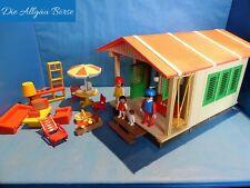Playmobil 3771 Chalet Maison de vacances camping maison de plage city life rare rar