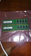 2GB = 2X 1GB  1RX8  PC2-5300U DDR2- 667MHZ 128X8 8CHIPS 240PIN  NON ECC PC RAM