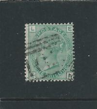 More details for gb-qv 1873-80 1s green plate 12 gu sg 150 cat £160
