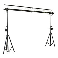 IBIZA lightbridge 3 M truss A CAVALLETTO STATIVO rinforzo del Nero Overhead truss Rig