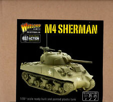 Warlord Bolt Action WW2 2nd Ed. US (USA) M4A3 Sherman (Battle Ready Pre-Painted)