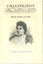 L'Illustration Programme théatre national de l'Opéra 1897 Sigurd