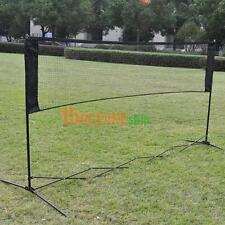 5.9m x 0.79m Professional Training Square Mesh Tennis Badminton Net Green