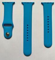 Apple Watch Blue Sport Band Series 0 1 2 3 42mm 4 & 5 44mm Original 2015 1st Gen