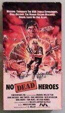 john dresden  NO MORE HEROES max thayer    VHS VIDEOTAPE