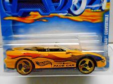 Hot Wheels '95 Camaro Convertible Ritmo Coche #141 (Amarillo) Arrugado