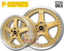 4x FR GOLD 18 inch Alloy Wheel Mazda 3 Civic i30 Lancer Camry Accord Cerato Ford