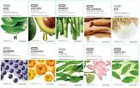 The Face Shop Real Nature Mask Sheet 10 20 30 pcs Korean Skin Beauty Free Ship