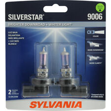 Headlight Bulb-SilverStar Blister Pack Twin Front SYLVANIA 9006ST.BP2